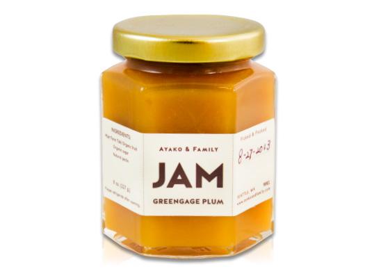 Buy Ayako & Family Greengage Plum Jam | Marx Pantry